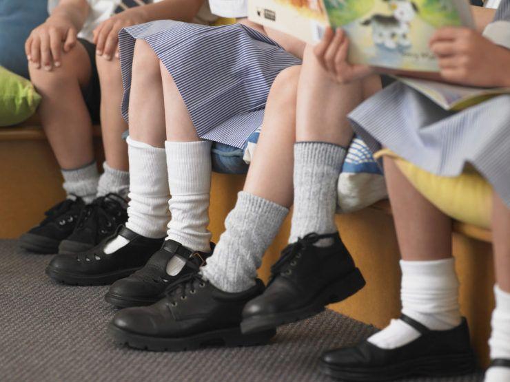 Specifieke schoenen voor kinderen