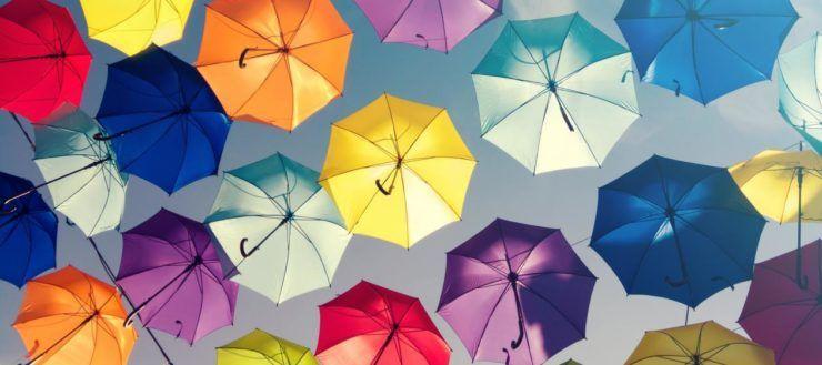 Paraplu bedrukken